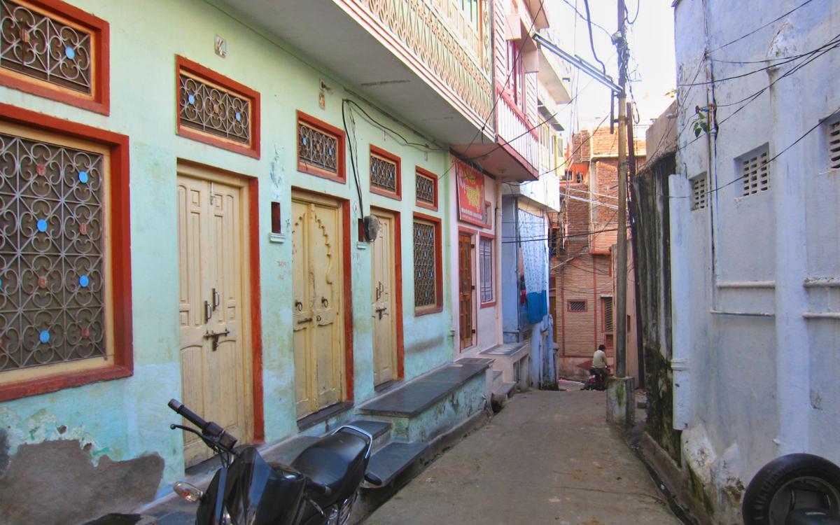 The quaint abode of a shopkeeper