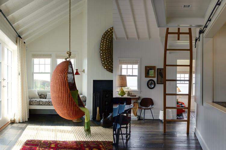 Wauwinet Ramble Living Room/Dining Area. Photo: T.G. Olcott