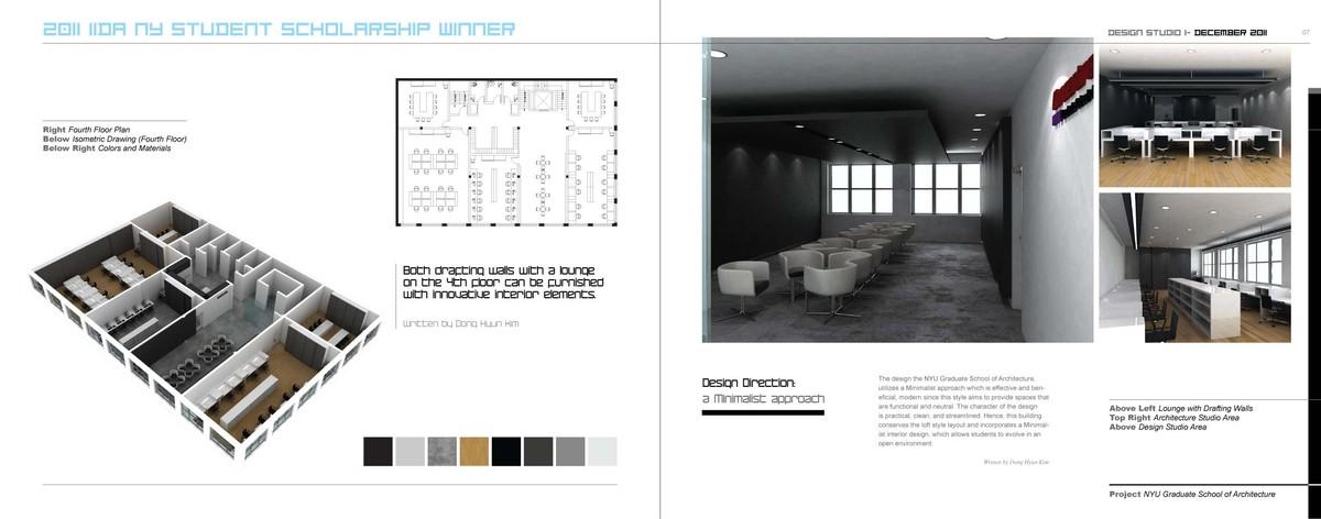 Design Page II_ 4th Floor Area(Studio & Lounge Area)
