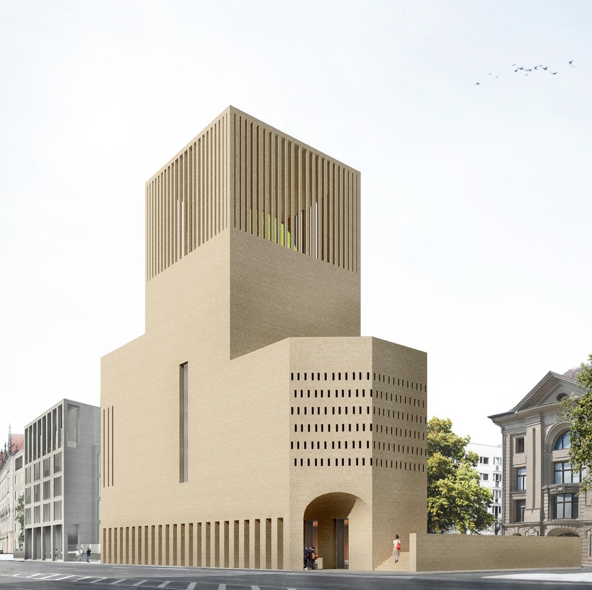 The house of one view from gertraudenstrasse kuehn malvezzi visualization davide abbonacci kuehn malvezzi