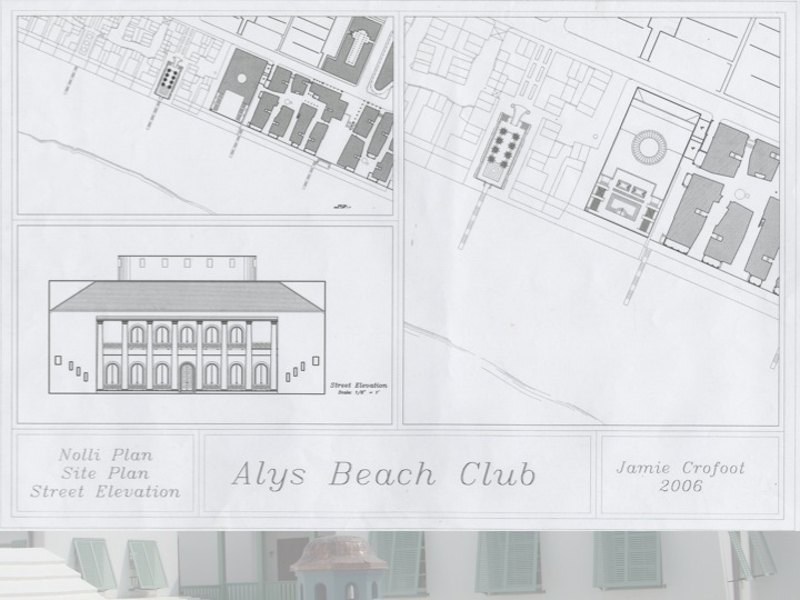 Alys beach house plans