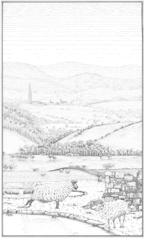 18th century perspective print