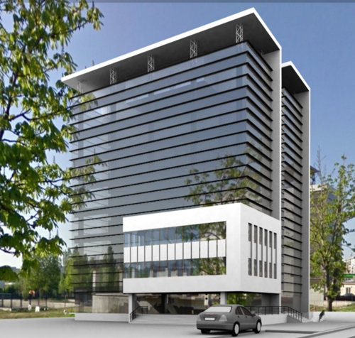 Office building trilitica frame invest archinect for What type of engineer designs buildings