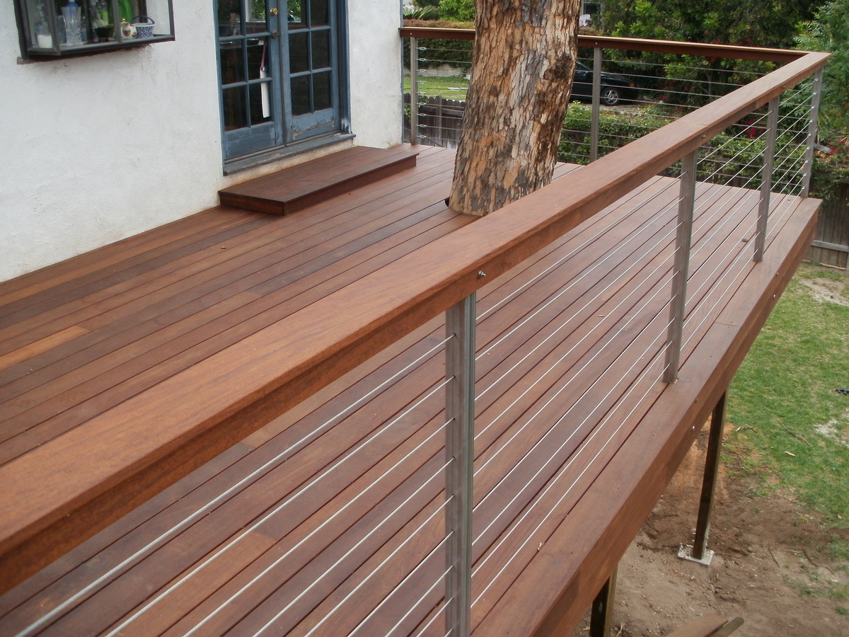 Decks pergolas benches stairs gates fences more for Balustrade aluminium exterieur