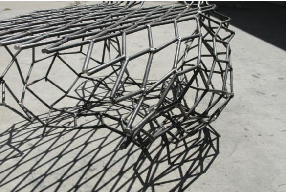 Artwork created by NewSchool of Architecture and Design faculty members will be available for public viewing Jan. 25, 2013 at the