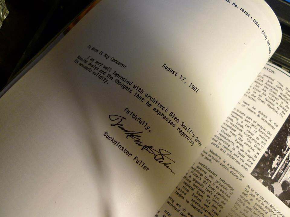 Letter from Bucky. Image courtesy of Orhan Ayyüce.