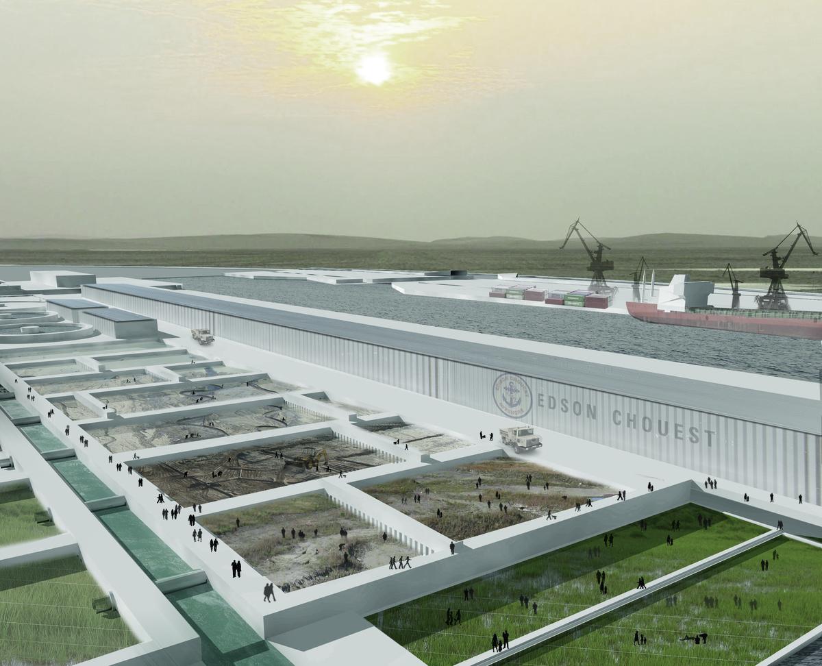 Dredge Sediment Processing & Shipping Port