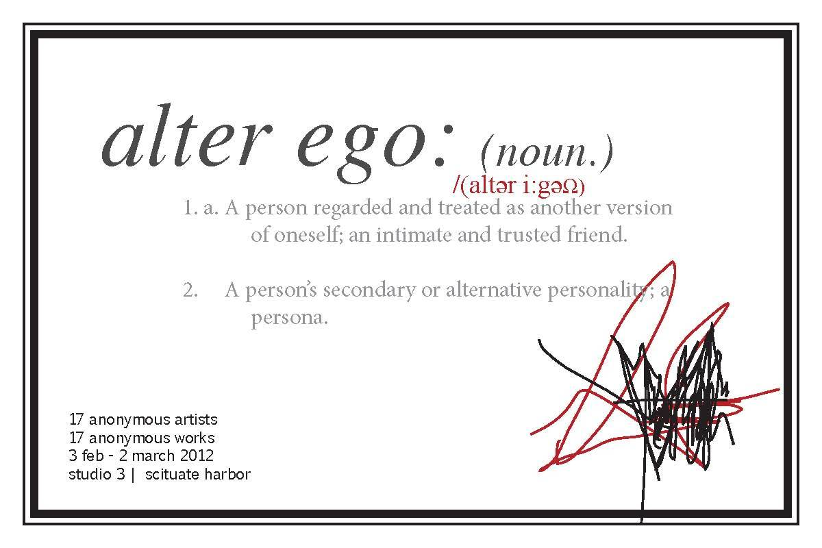 Post Card: Alter Ego Show