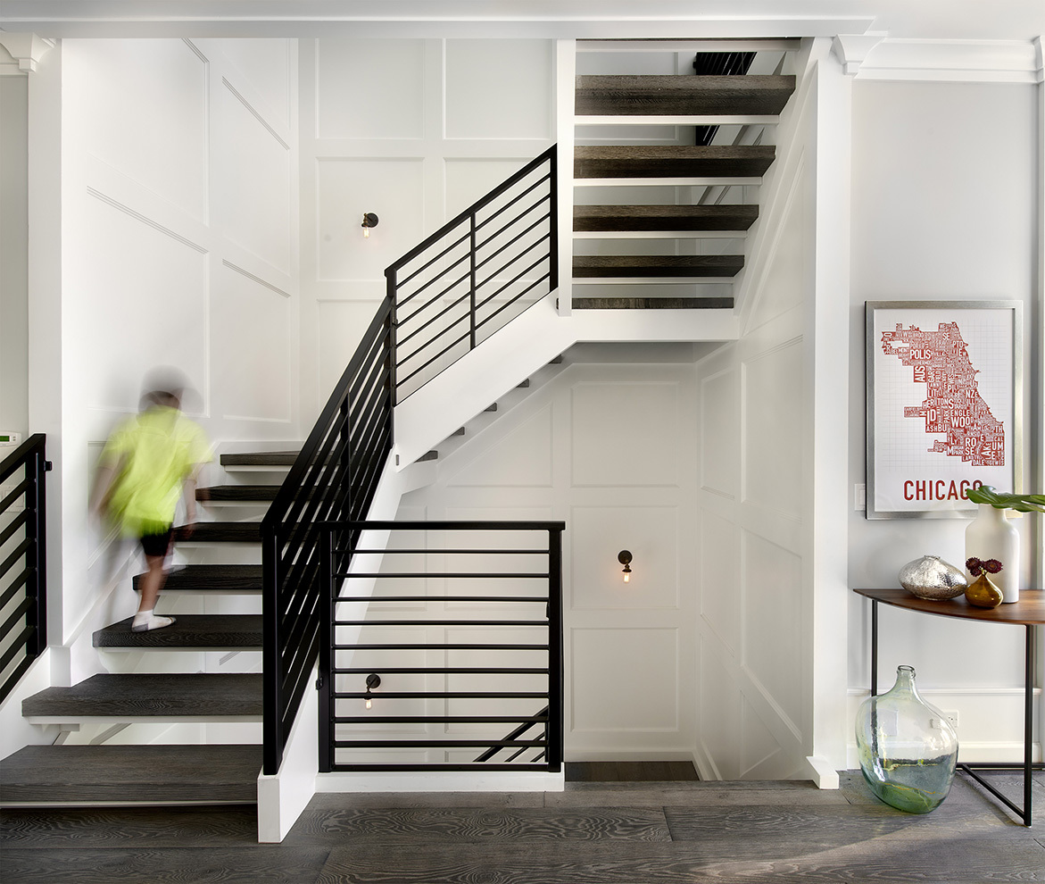 Modern farm house charles vincent george archinect for Idee amenagement interieur