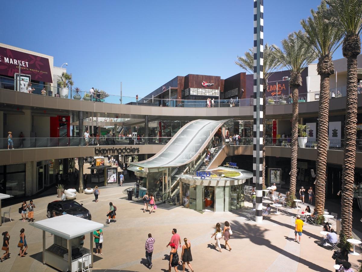 Santa Monica Place Jerde Archinect