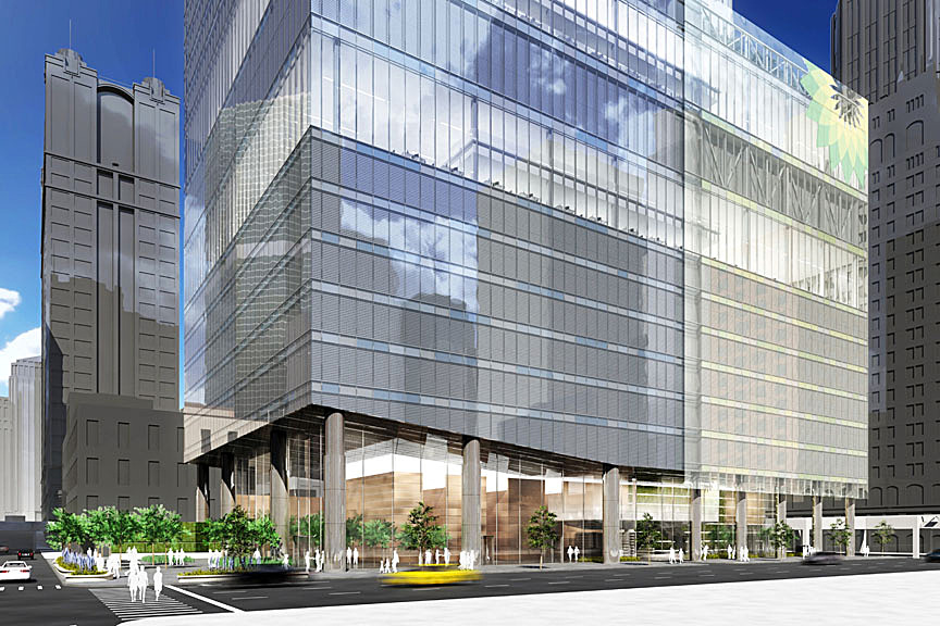 Energy trading tower grec architects llc archinect - Ey chicago office address ...