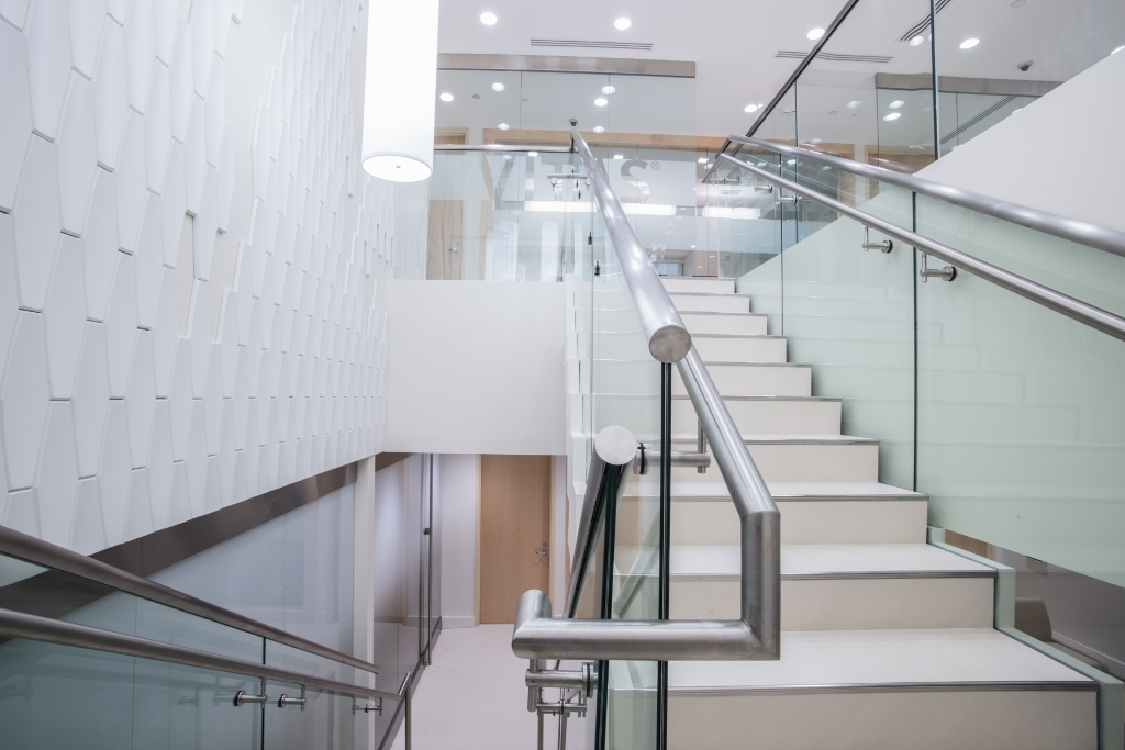 Commercial Staircase Design Vitas Headquarters Bella