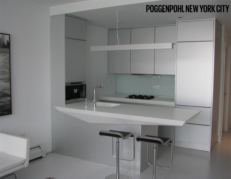 Poggenpohl NYC Kitchen Island Top Design