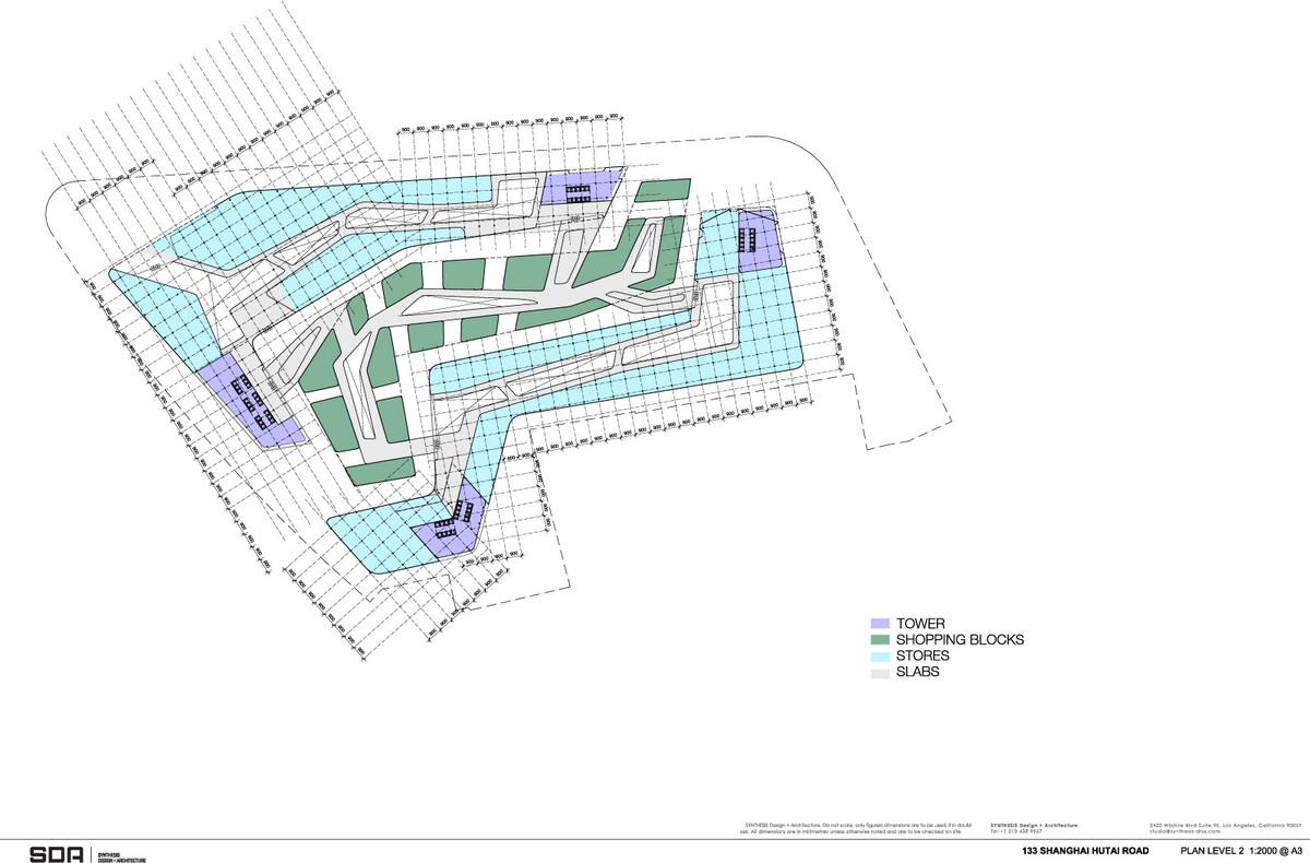 Floor plan L2 (Image: SDA)