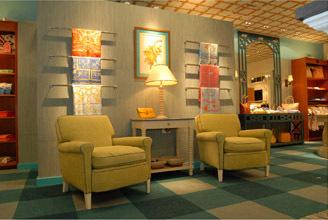 Sea Island Store Interior
