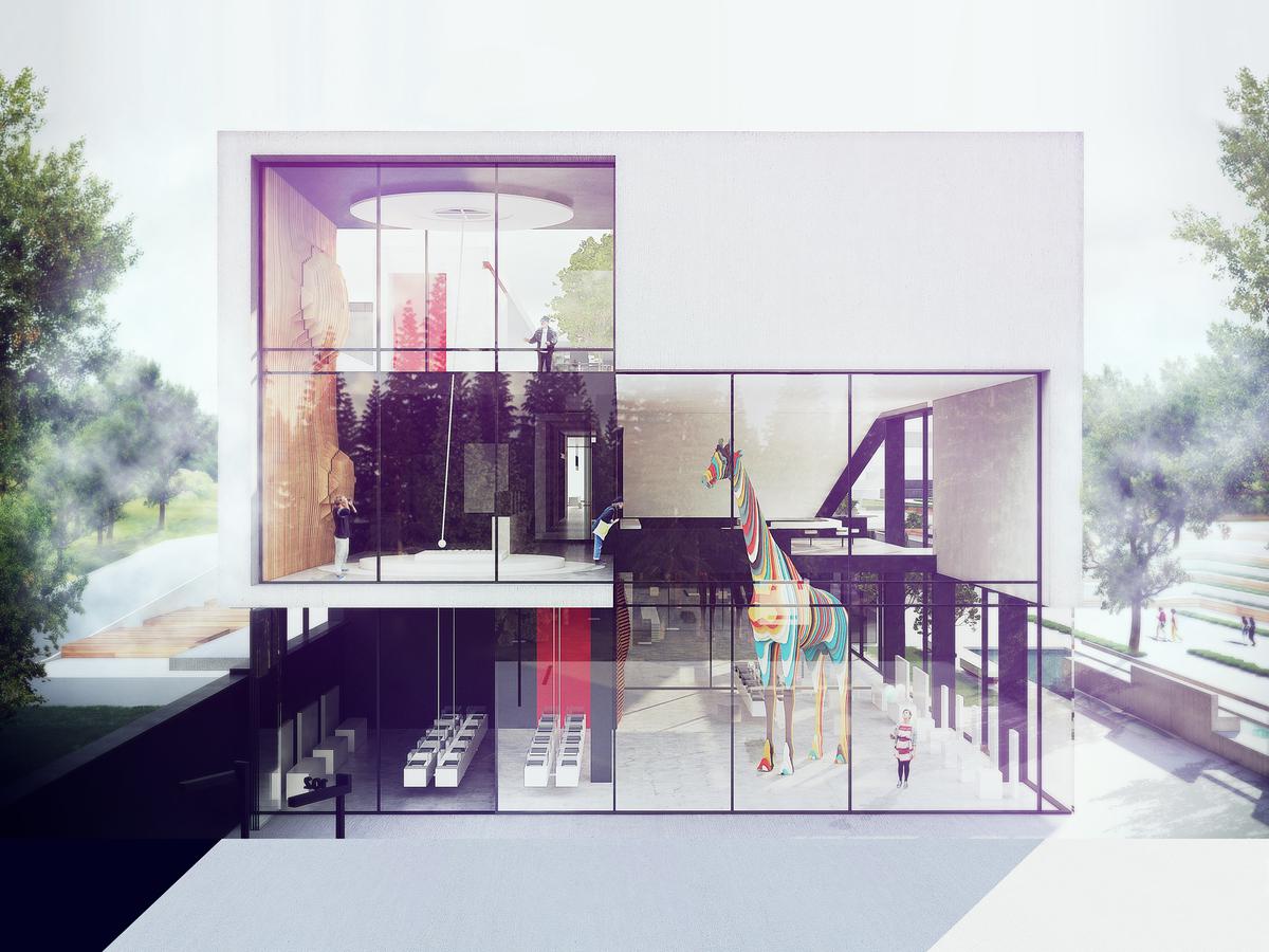 016 – PERSPECTIVE | FOUCAULT PENDULUM - Image Courtesy of ONZ Architects