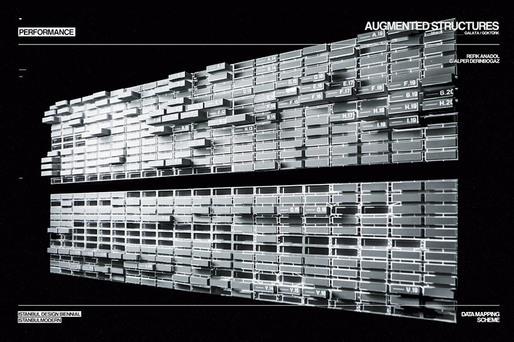 Augmented Structures v2.0 by Alper Derinbogaz and Refik Anadol