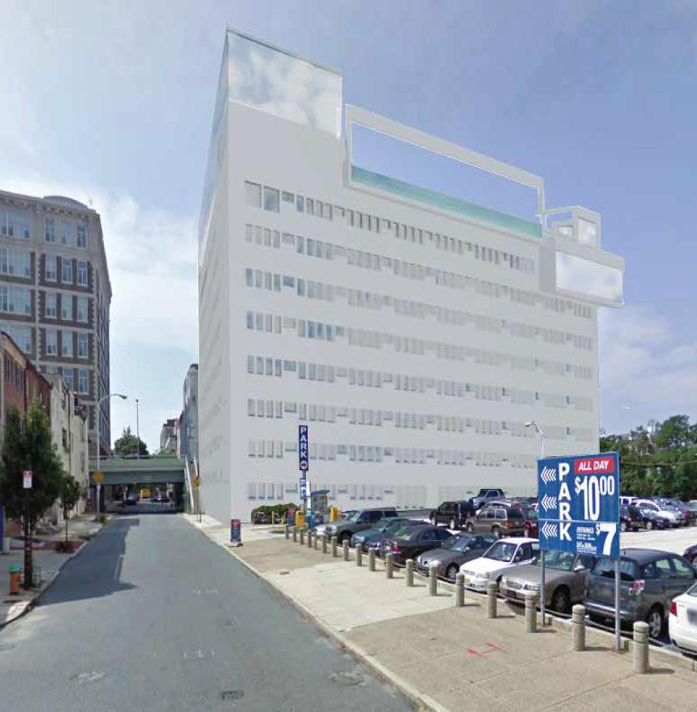 Exterior Building Render III