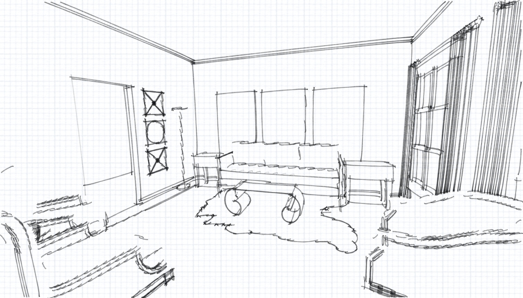 living room sketch quick sketch of living room