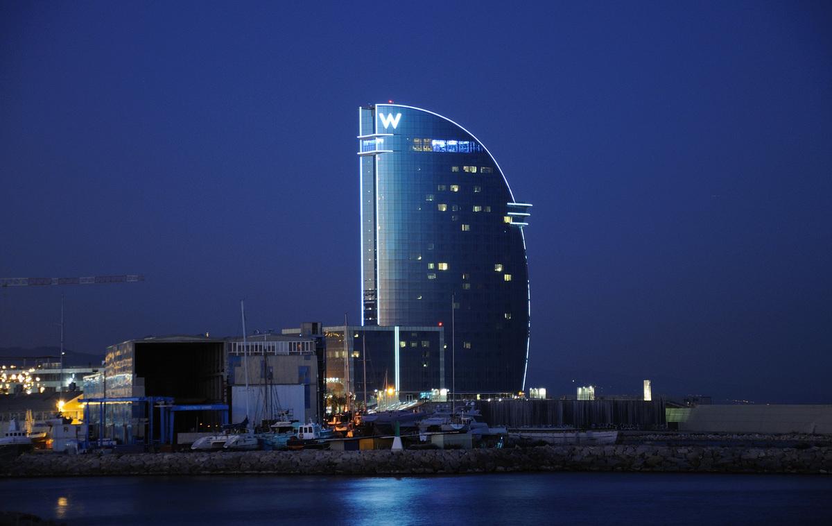 Hotel w barcelona ricardo bofill taller de arquitectura for Hotel barcelona w