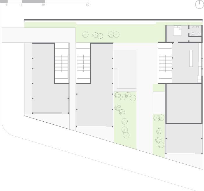 Plan - ground floor (Image: Eric Laine & Suzanne Steelman)