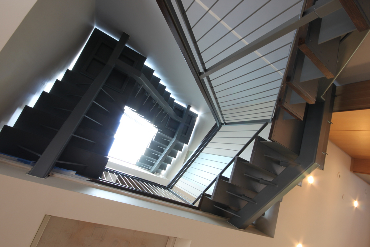 Lightwell and Stair