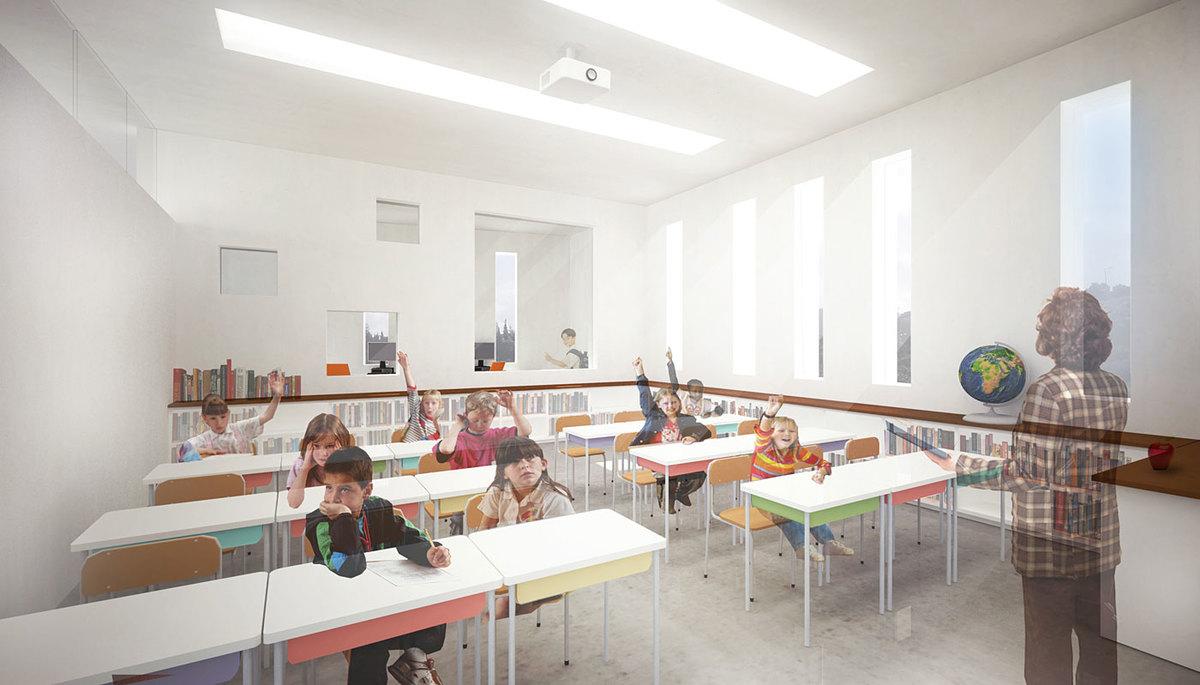 Classroom (Image: Atelier3AM)