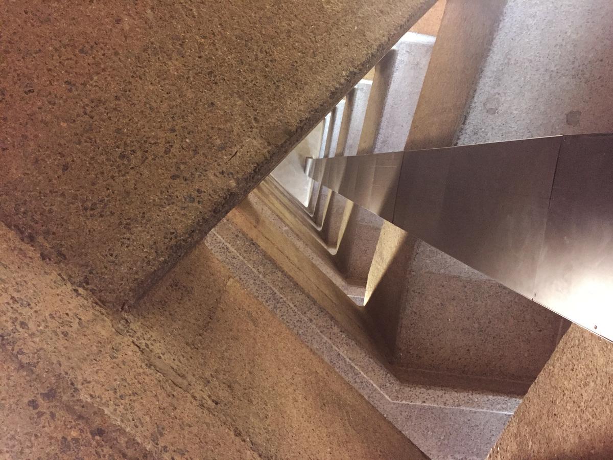 Frobisher Crescent stairwell