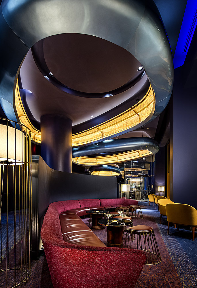 Skyfall lounge - Las Vegas, NV.