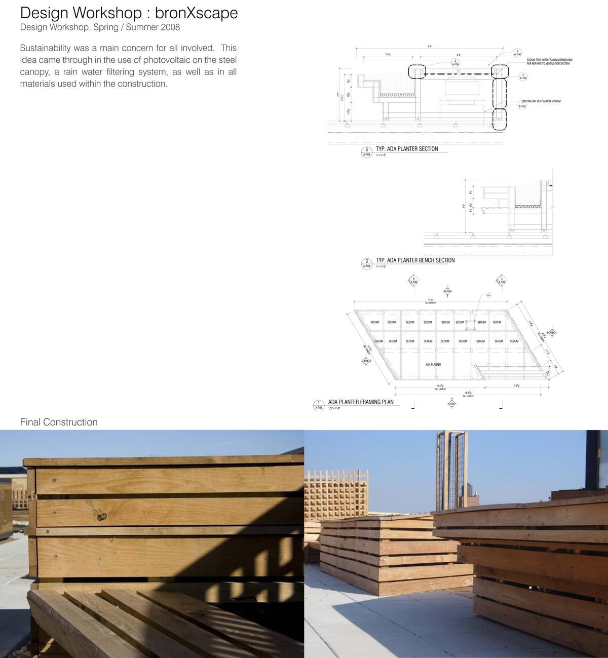 Design Workshop : bronXscape
