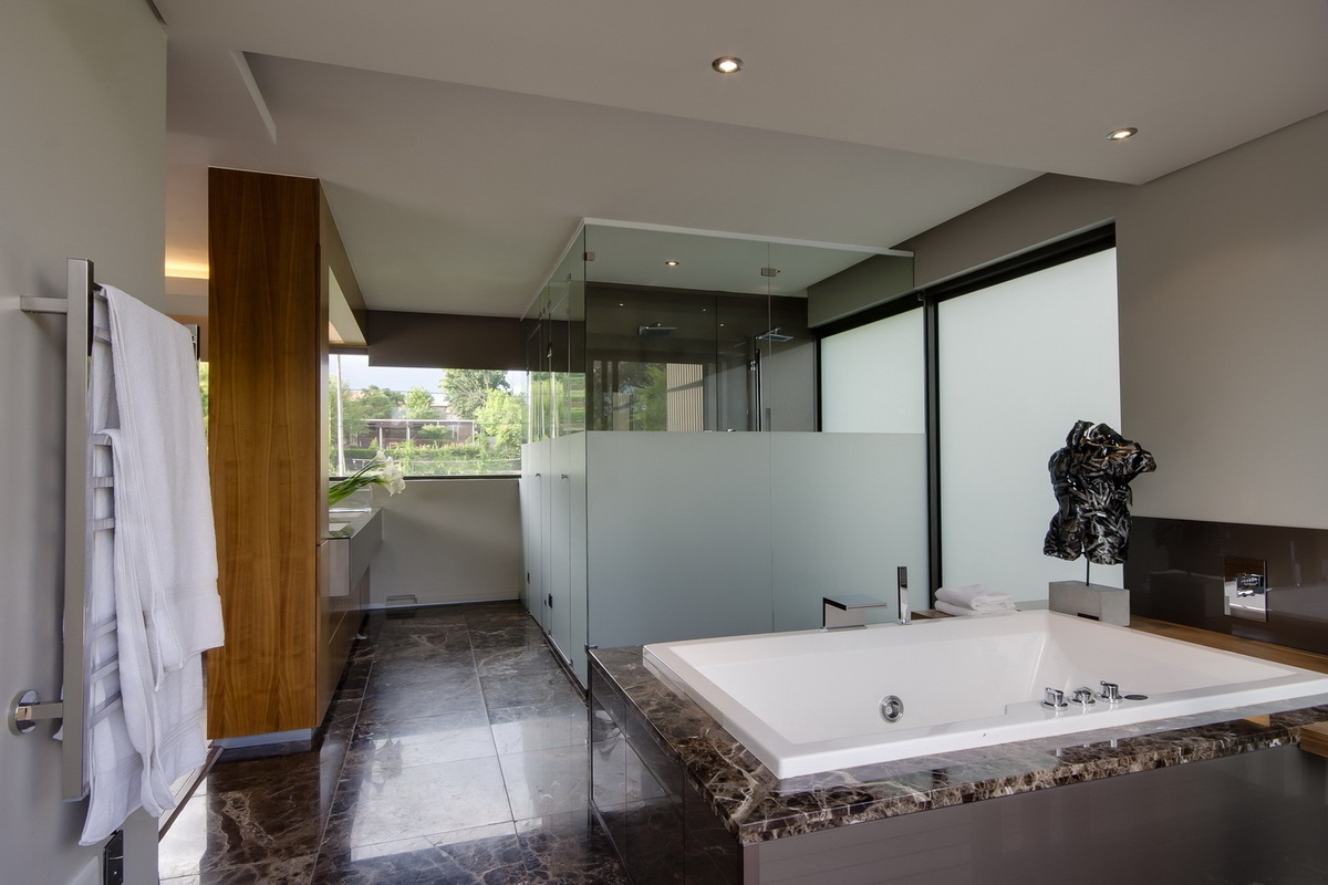 House sed nico van der meulen architects archinect for Modern bathrooms south africa
