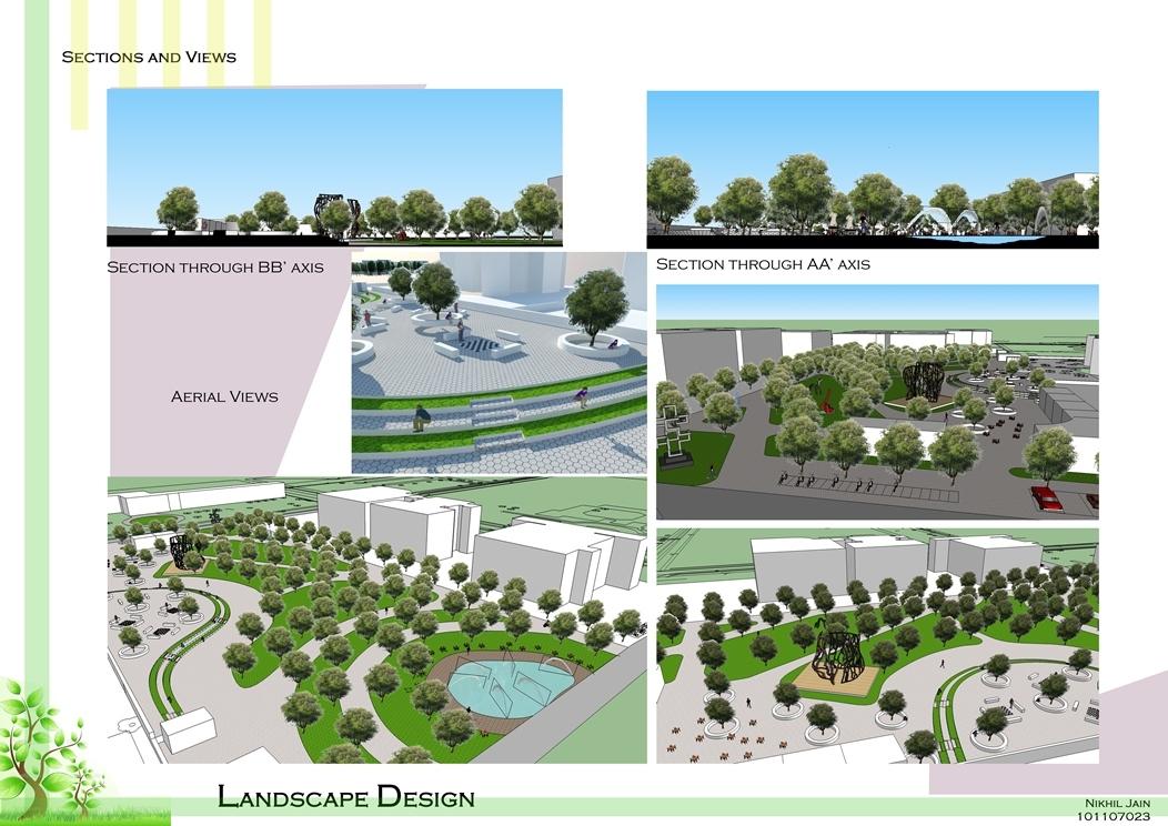 Landscape Design Of An Unused Land In College Campus