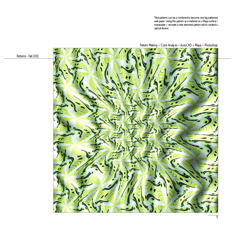 Wall Paper - Pattern Design