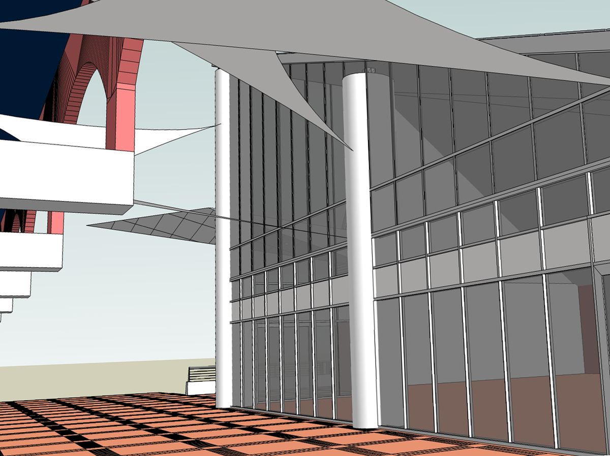 1st. design (NW view) 3 of 3