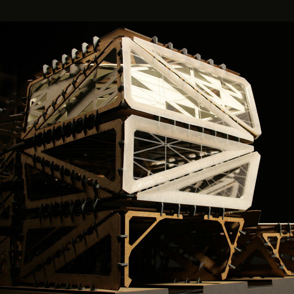 Almere Pampus Transferium - MetaStable Prototype by Mariusz Polski & collaborators