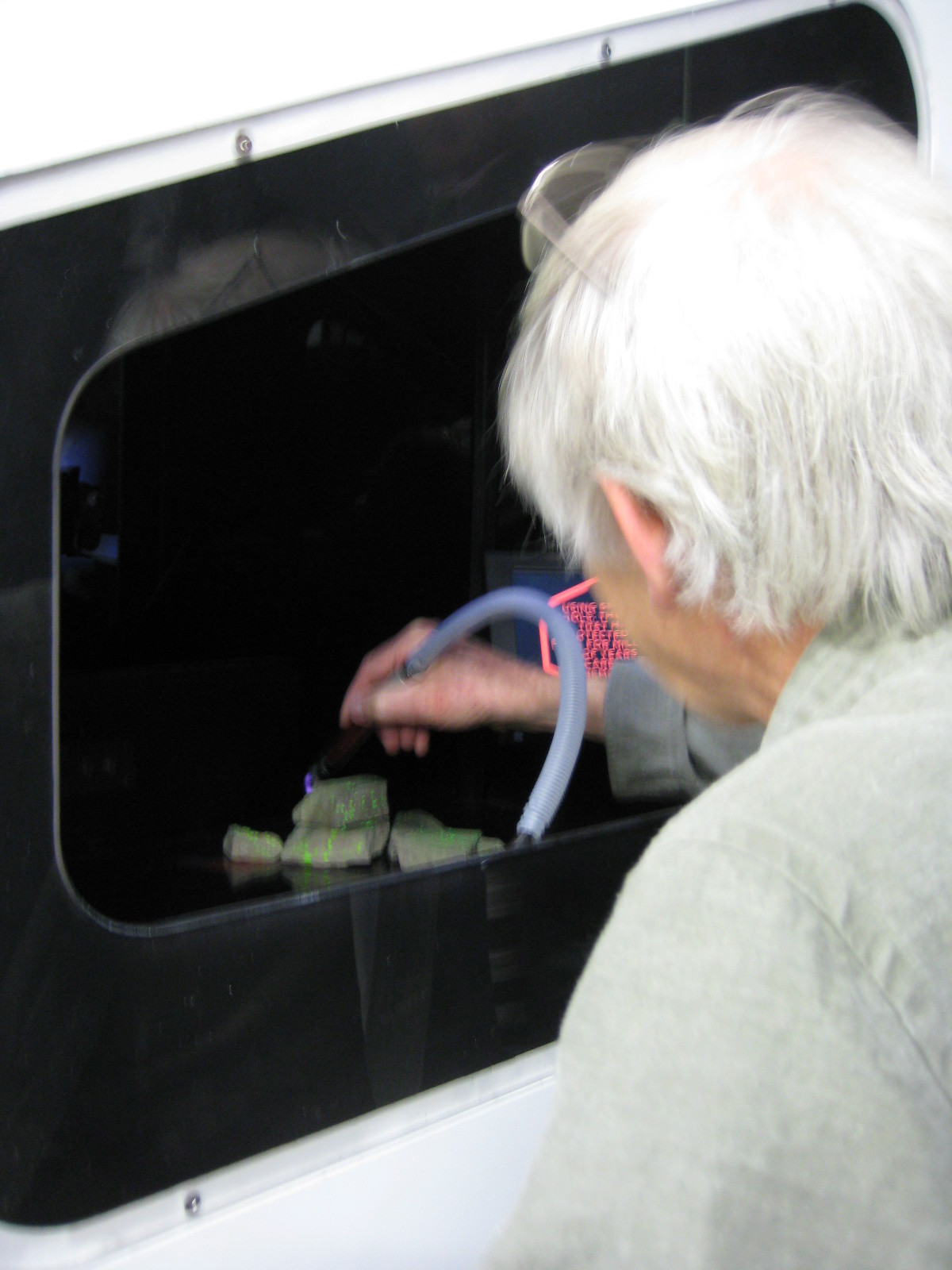 Interactive Hologram Display box.