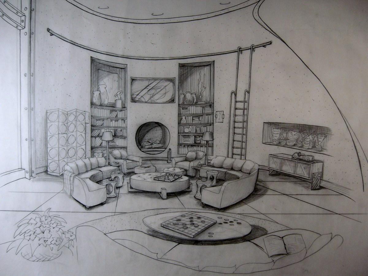hand sketches schematic presentation drawings takeshi kondo