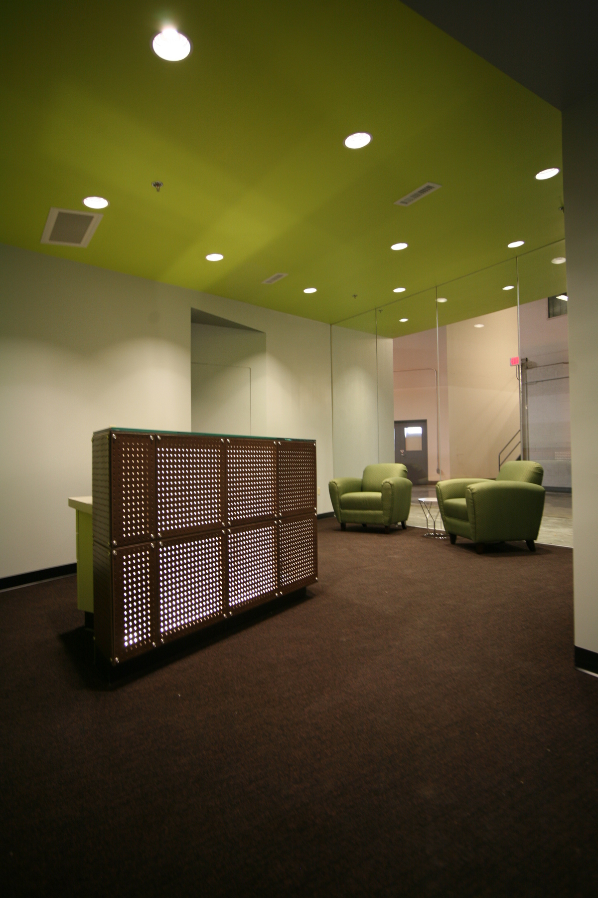 Lobby with Reception Desk