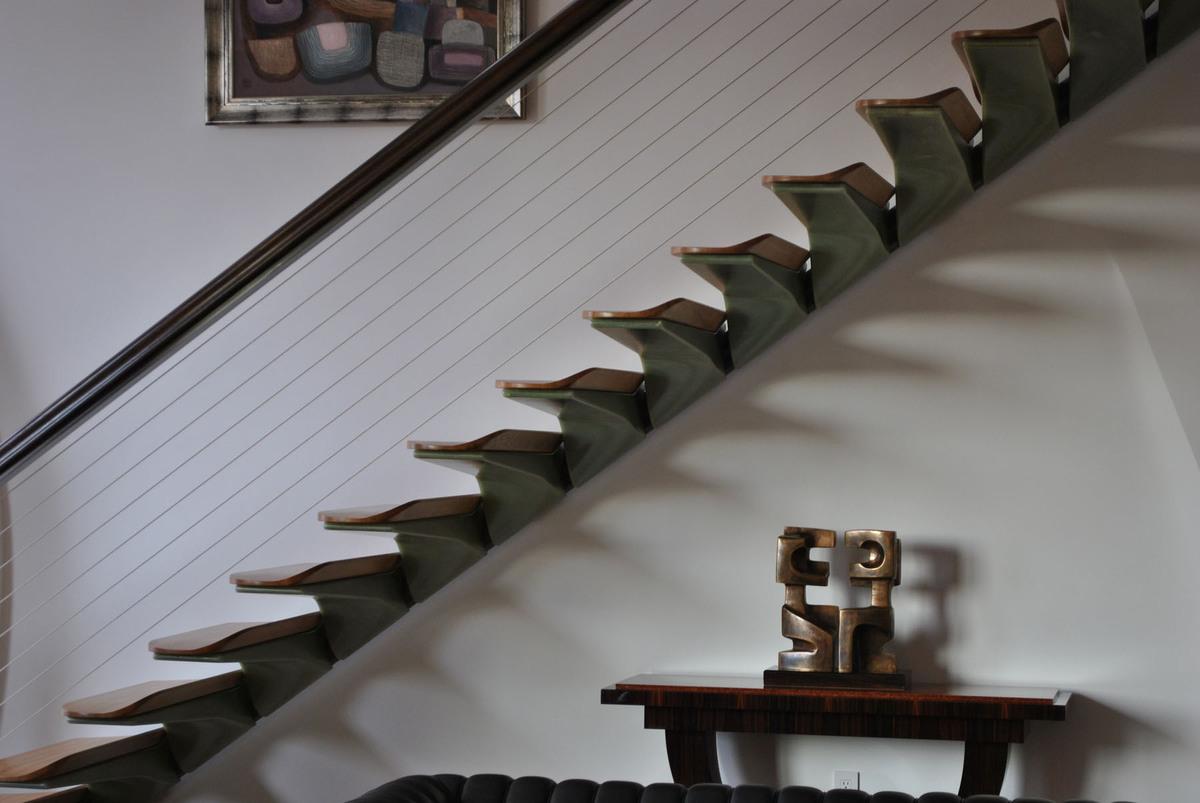 Pancu Residence - Signature Stair (Image: Nastasi Architects)