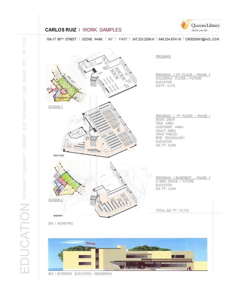 Broadway Community Library / LIC NY / Built pg1