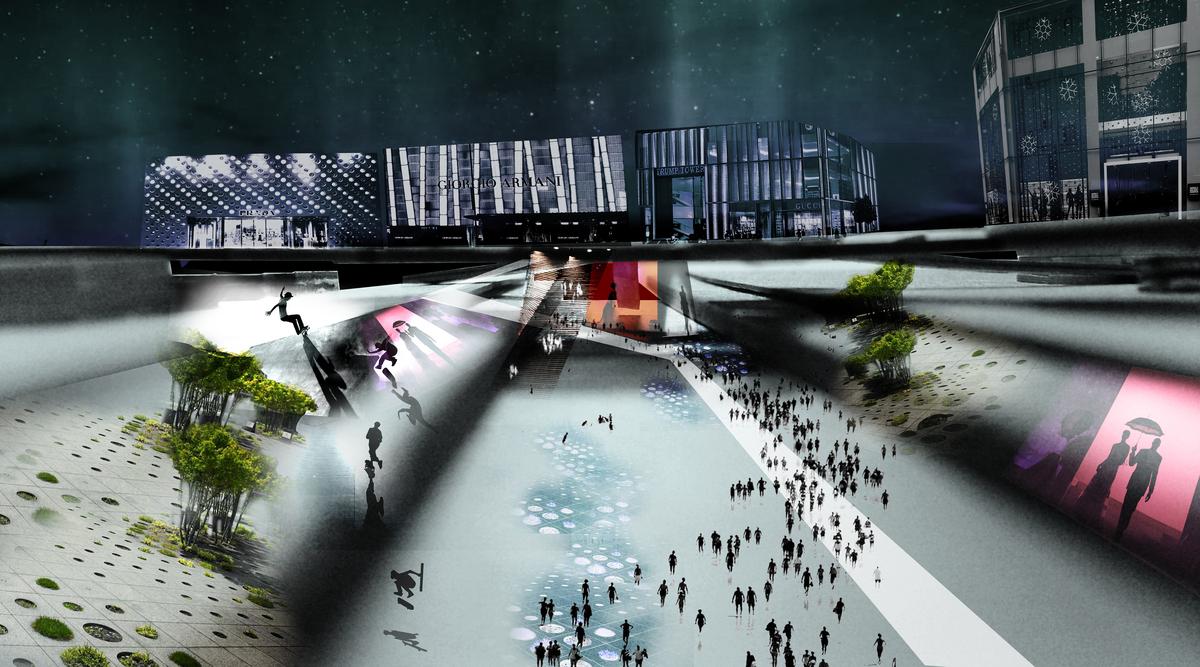BinBin Mas vision for the LA River Fashion Park