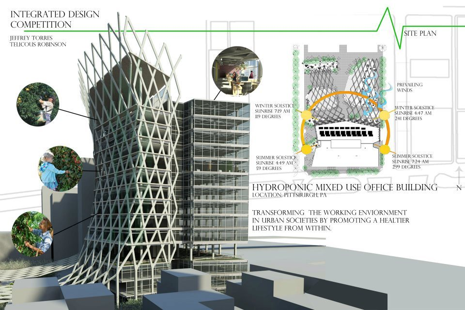 Integrated Design Competition Telicious Robinson Archinect