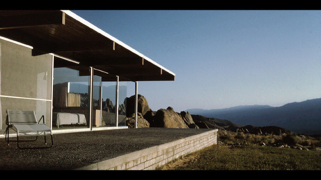 Richard Neutras Oyler House in the 1960s. The structure is showcased in The Oyler House: Richard Neutras Desert Retreat, which will premiere at ADFF 2013 in October. Photo provided by Novita Communications.
