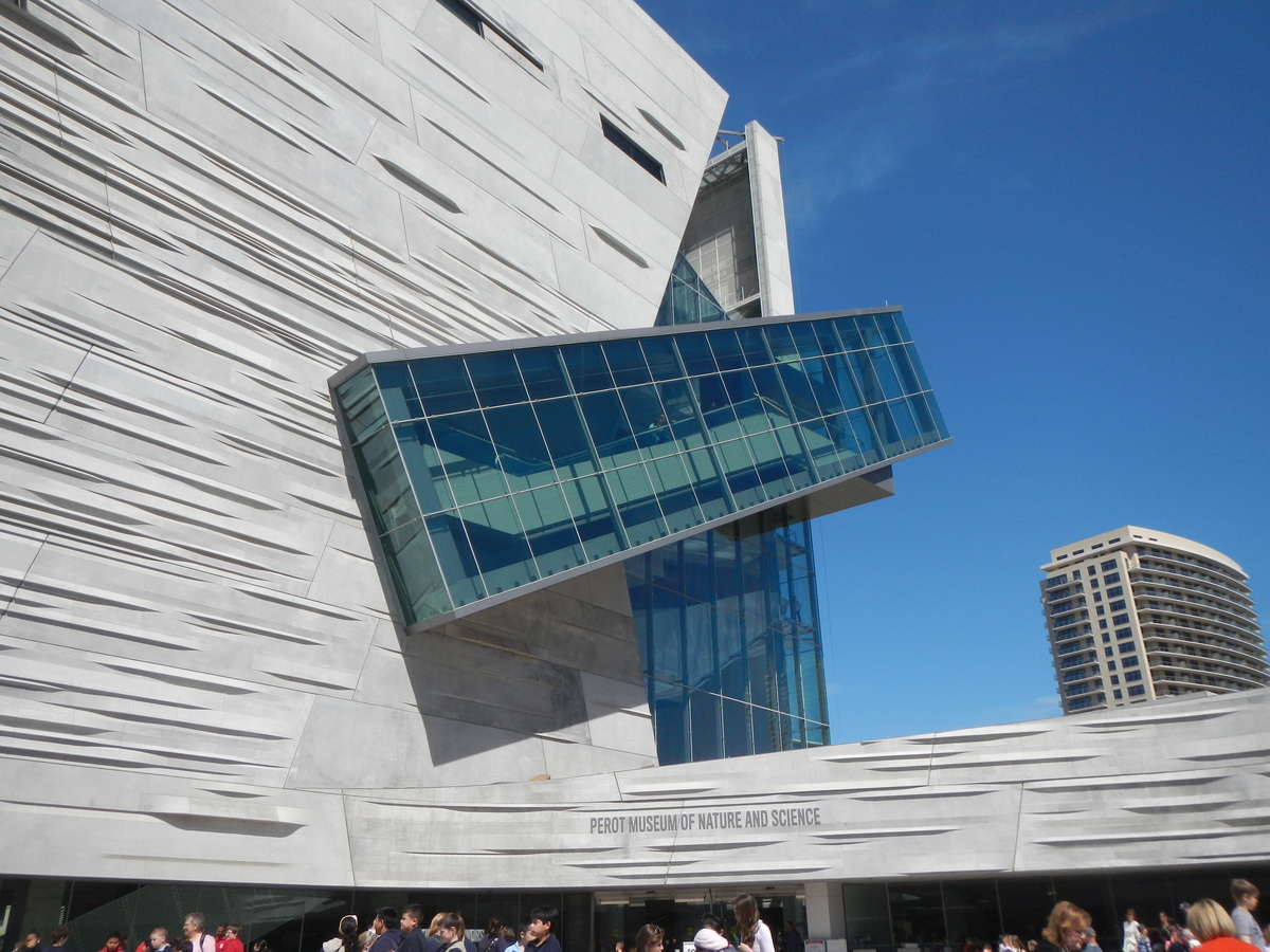The Perot Museum of Nature and Science. Image: thecavenderdiary.com.
