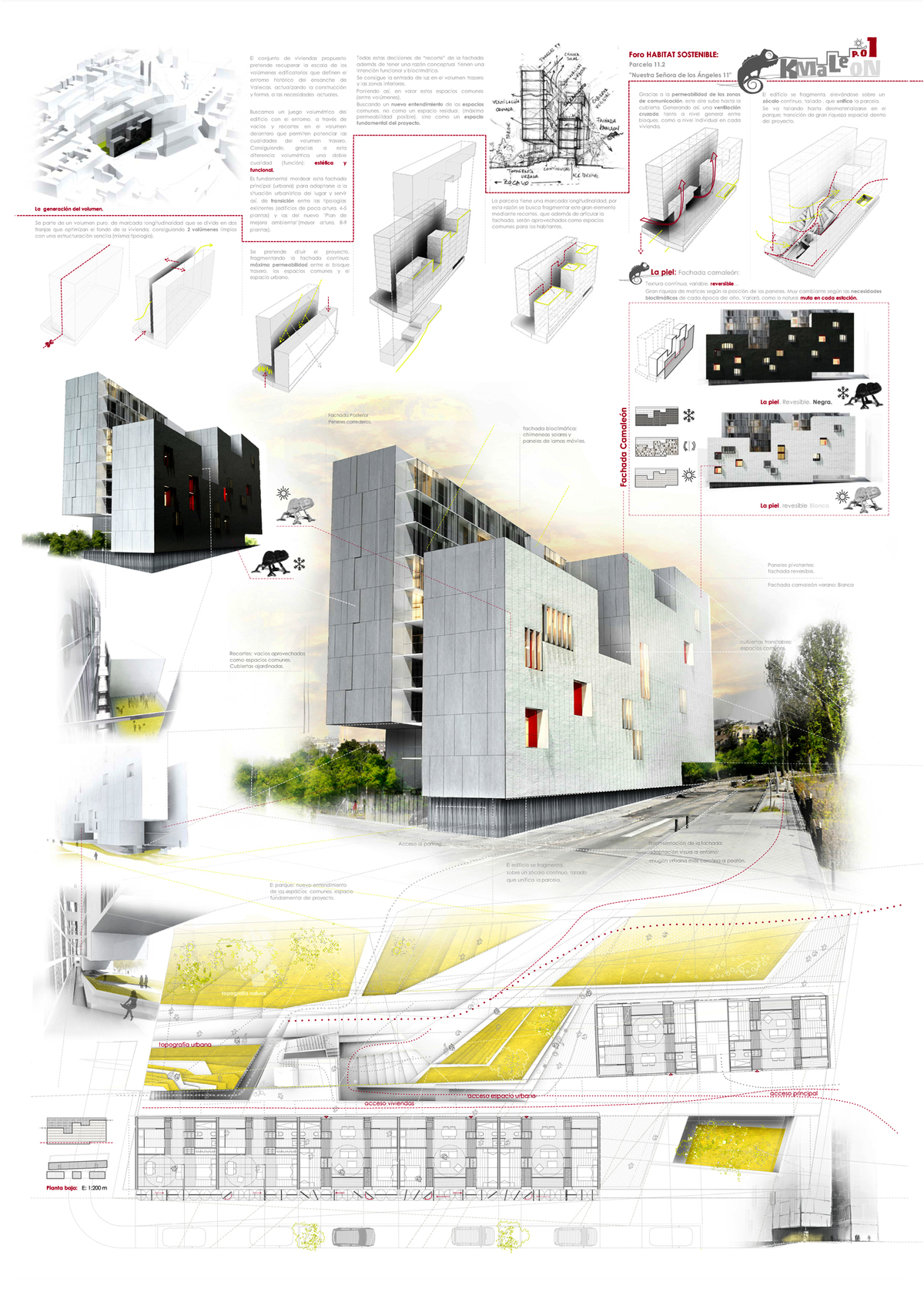 Competition Second Price 286 Proposals Habitat Futura