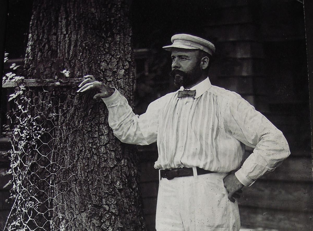Louis Sullivan. Photo: Ryerson Burnham Archives, Art Institute of Chicago