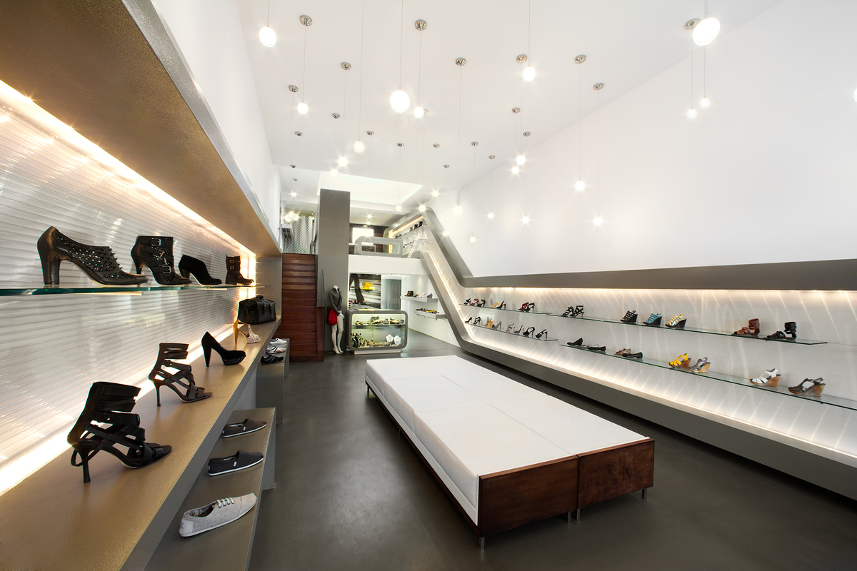 Sway Shoe Store Clay Aurell Archinect
