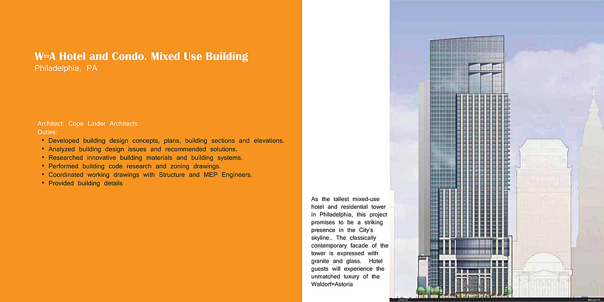 Hotel and Condominium Mixed Use Building | Sung Lee ...