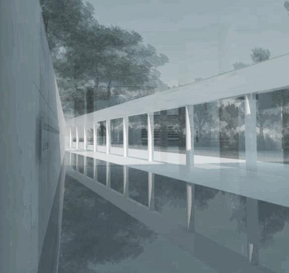 reflecting pool rendering 1