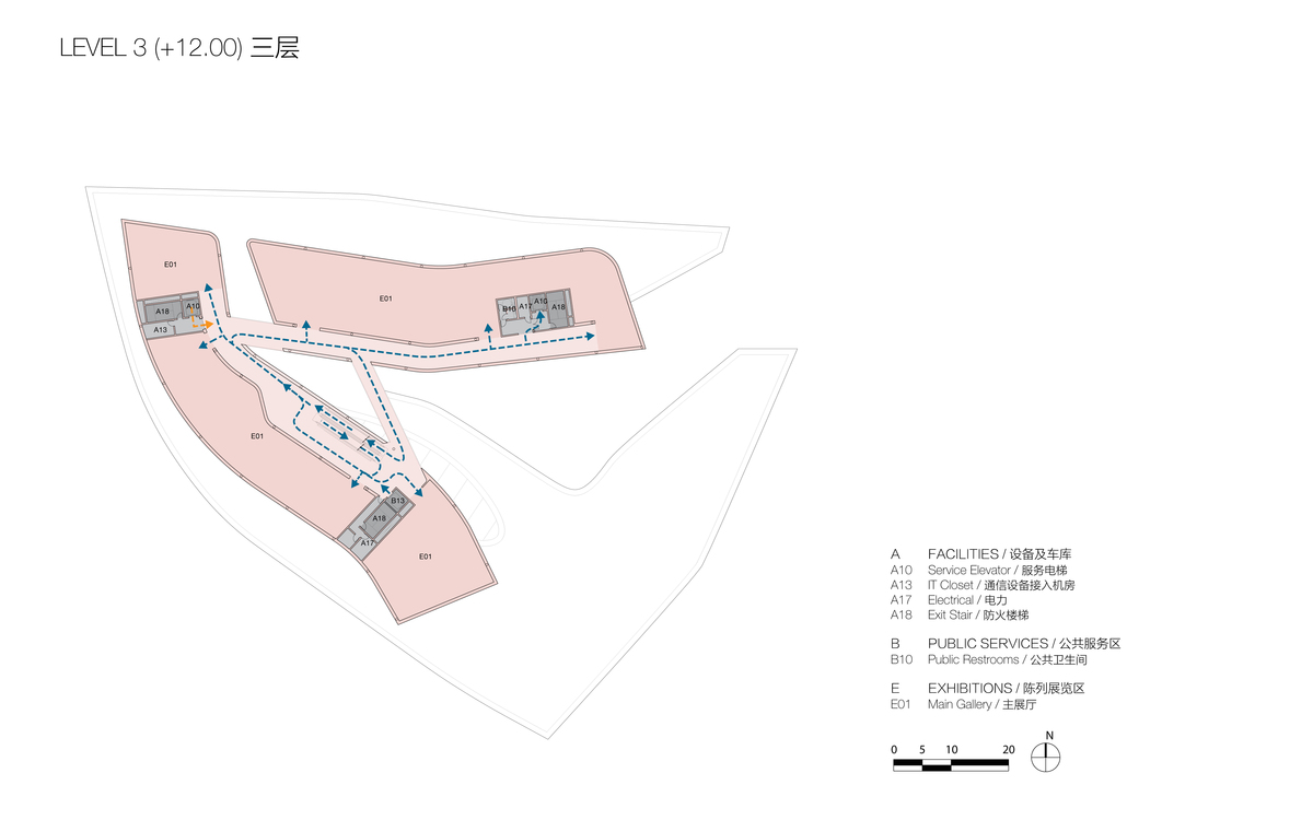 Plan at Level 2 (© Studio Link-Arc)